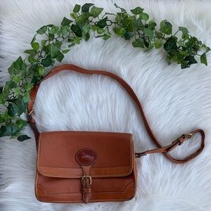 Vintage Dooney & Bourke Crossbody Leather Bag